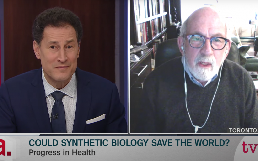 Interview with Steve Paikin on The Agenda